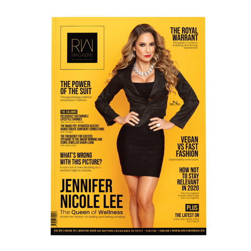 Rich Woman Magazine communicates the values and identity of the Modern Woman.