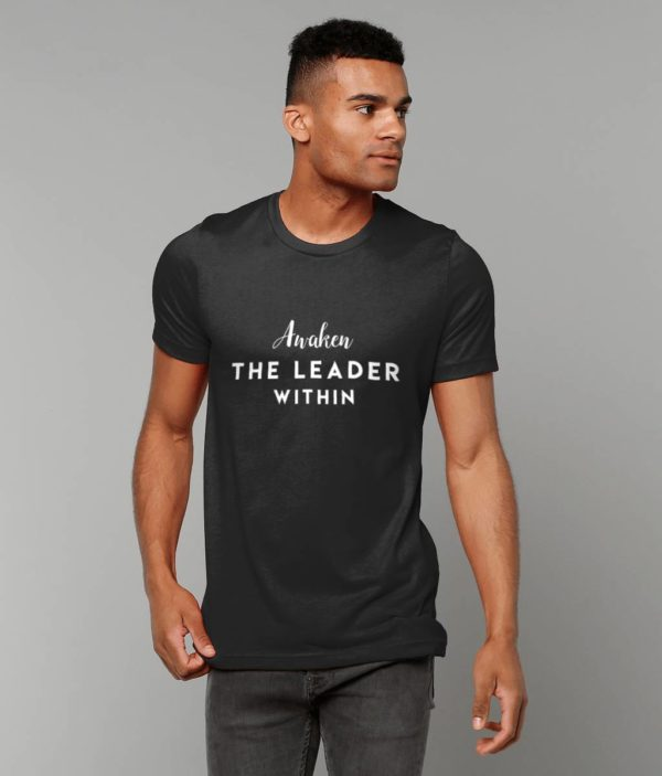 Celebrate the 24 Hour Leadership Summit with our Awaken The Leader Within Unisex t-shirt.